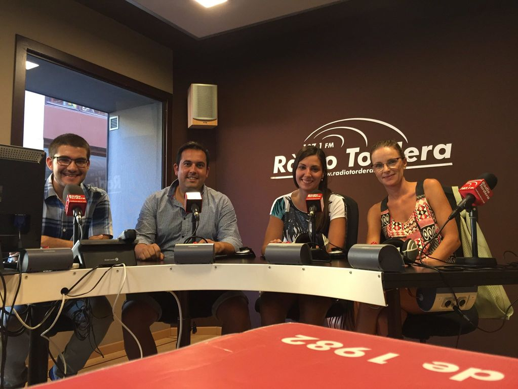 PA TORDERA EN EL PROGRAMA DE RADIO