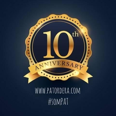 2019: EL AÑO DEL 10º ANIVERSARIO DE PA TORDERA
