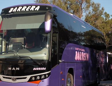 PA Tordera y Autocars Barrera establecen un acuerdo de patrocinio