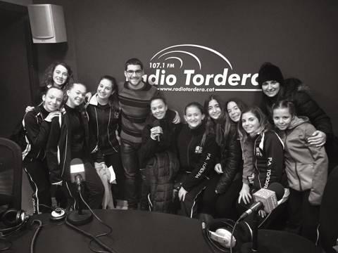 ENTREVISTA RADIO TORDERA GRUPO SHOW JUVENIL